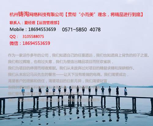 杭州铸淘网络科技有限公司|天猫代运营|淘宝代运营